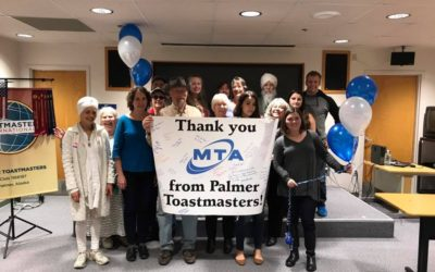 Palmer Toastmasters Celebrate 7 years
