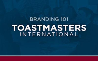 Toastmasters Branding 101