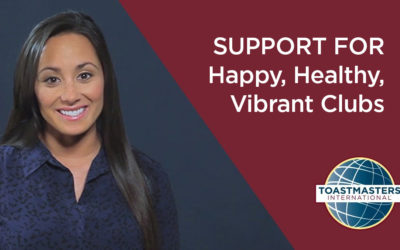 Support for Happy, Healthy, Vibrant Clubs