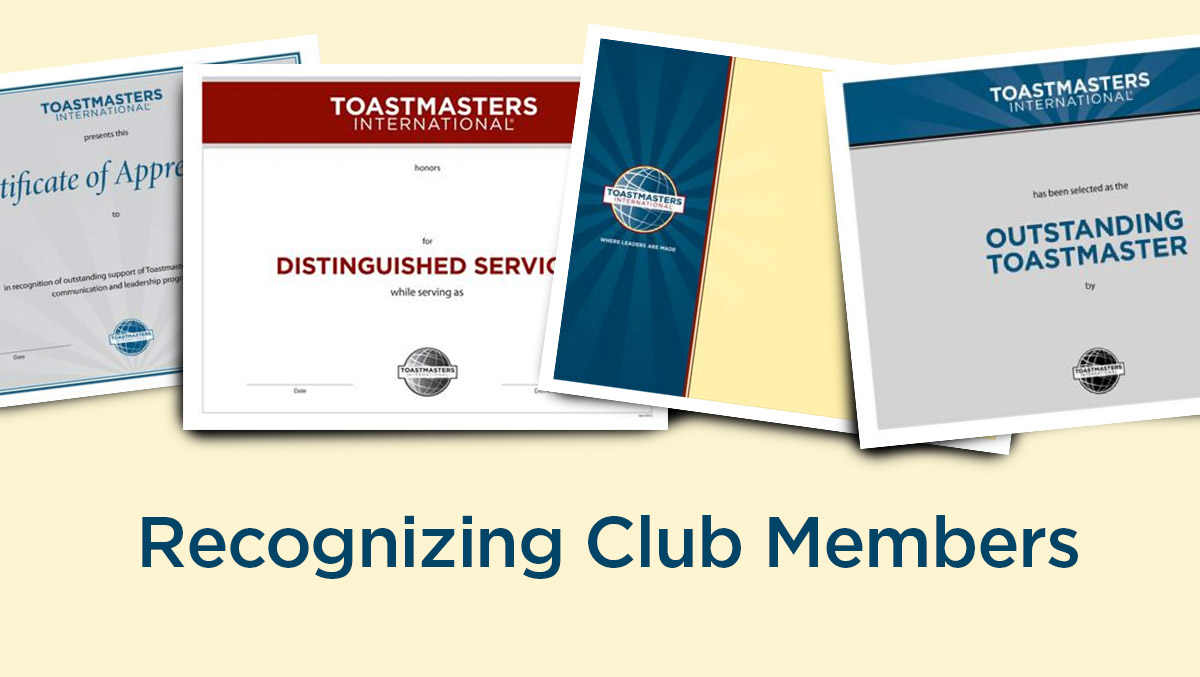 3 Ways to Celebrate Your Club Members