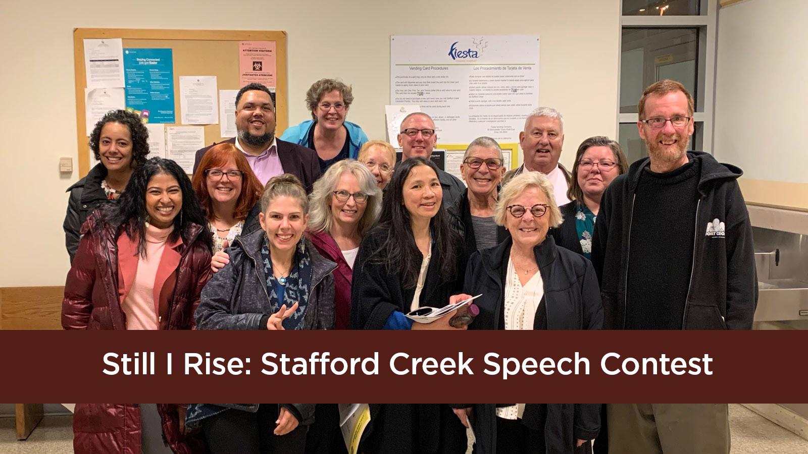 Still I Rise | Stafford Creek Speech Contest