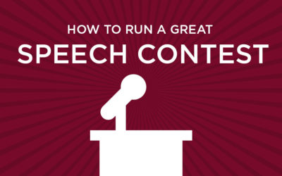 4 Tips to Run a Great Speech Contest