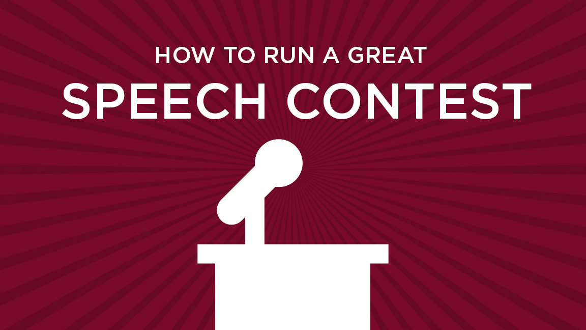 PLANNING a Virtual CLUB Speech Contest