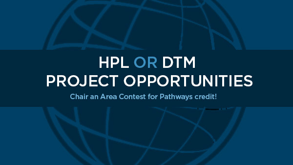 HPL or DTM Project Opportunity!