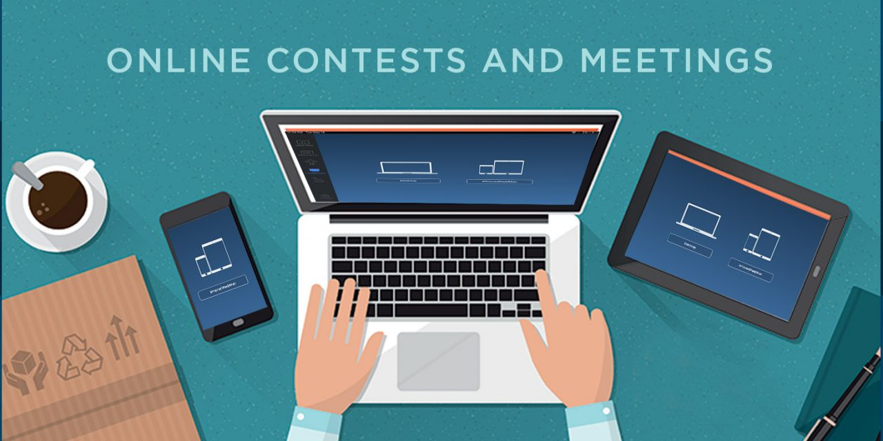 ONLINE CONTESTS AND MEETINGS