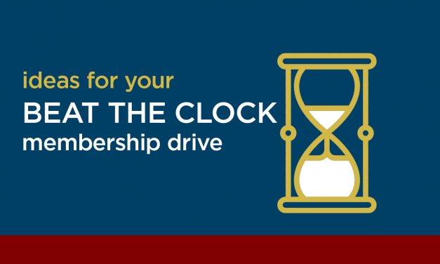 Beat the Clock! Membership Building Campaign