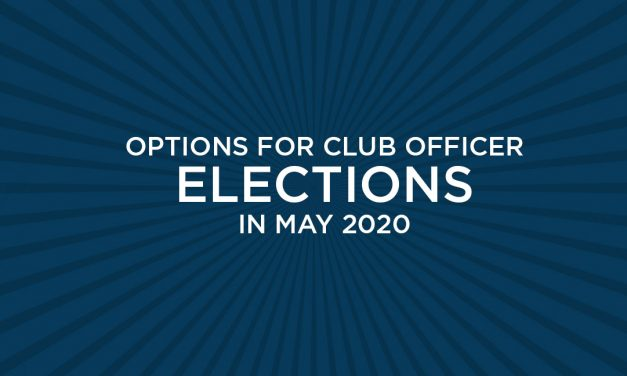 Club Officer Elections: Confidential Voting Online