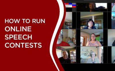 RUNNING ONLINE SPEECH CONTESTS