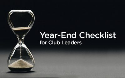 Club Year End Checklist