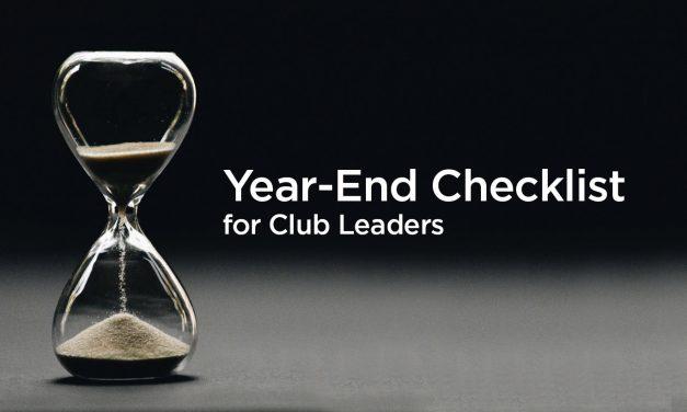 Club Year End Checklist