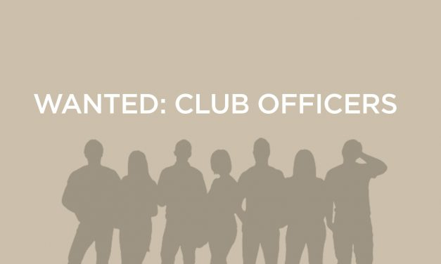 WANTED: CLUB OFFICERS