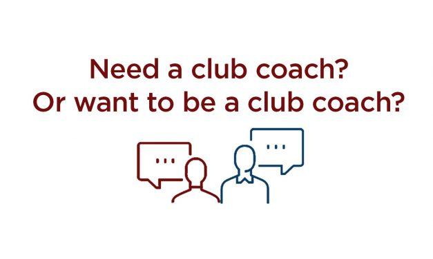 CLUB COACH PROGRAM
