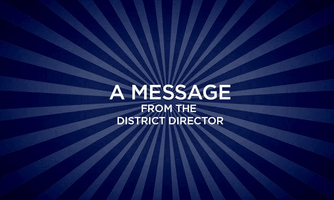 Meet your 2021-22 District Director