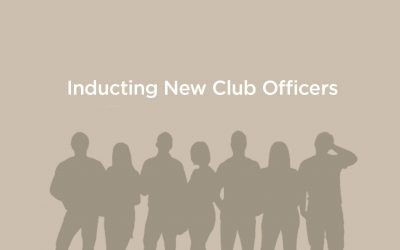 HOW TO CONDUCT CLUB OFFICER ELECTIONS