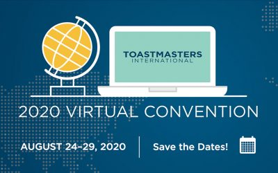 Toastmasters International Convention Online – are you going?