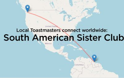 Local Toastmasaters Connect Worldwide