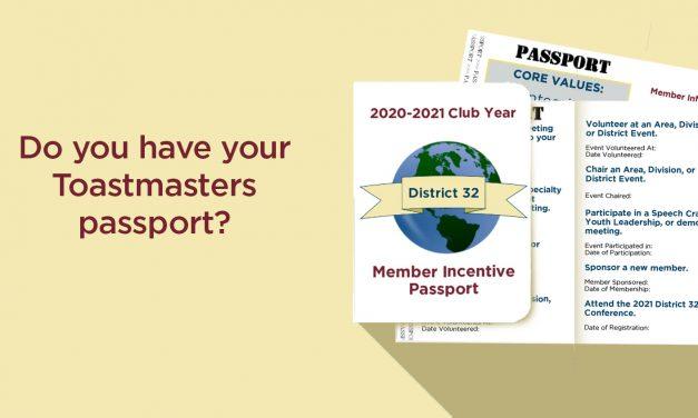 D32 Member Incentive Passport