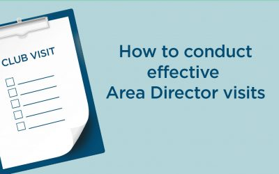 How to Conduct Effective Online Area Director Visits