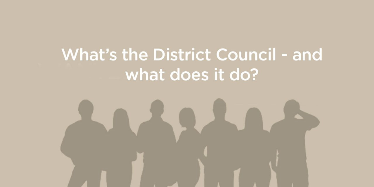 What is the District Council?