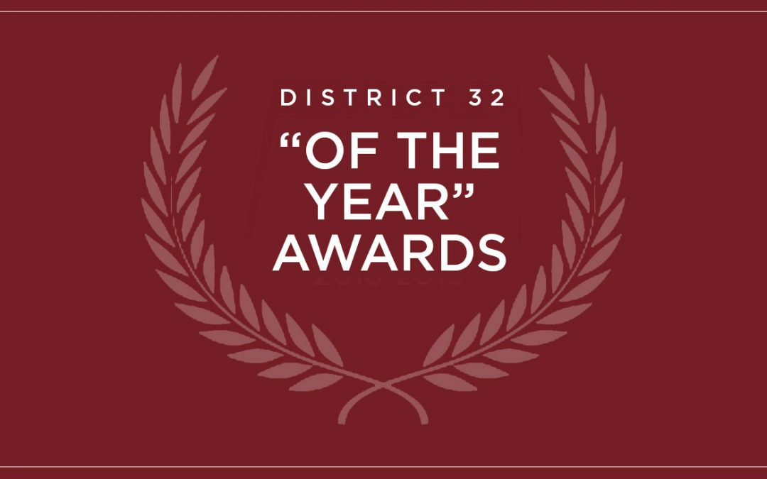 """2020-21 """"Of the Year"""" Award Nominations"""