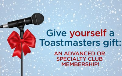 Give Yourself the Gift of an Advanced or Specialty Club