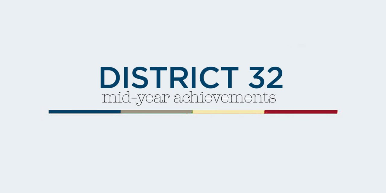District 32 – By the Numbers