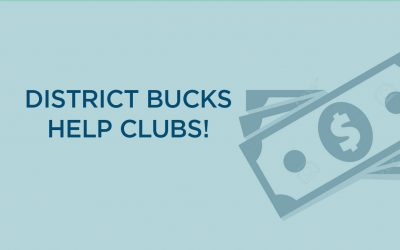 District Bucks Help Clubs