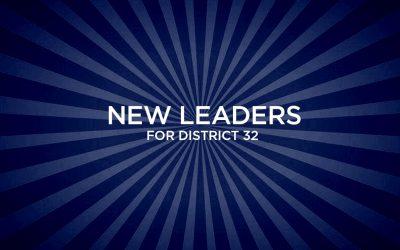 Congratulations New Leaders!