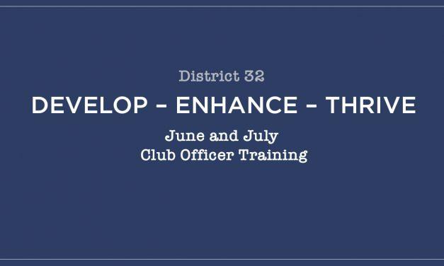 Develop – enhance – thrive