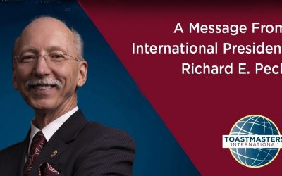A year-end message from International President Richard E. Peck
