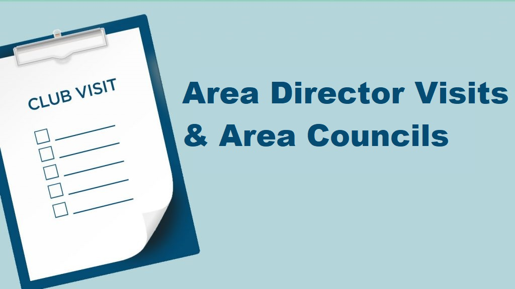 Area Director Visits and Area Councils